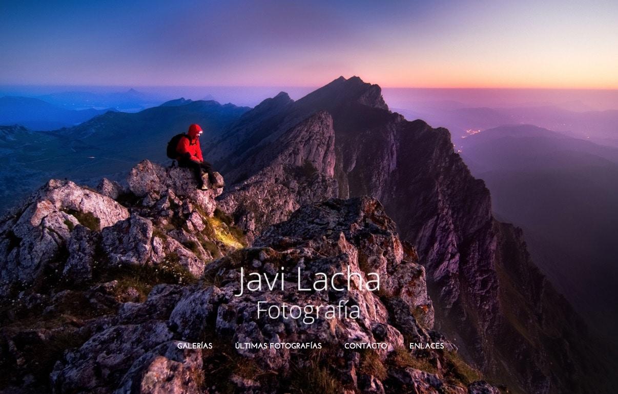 Las montañas de Javi Lacha