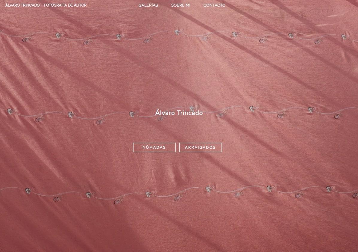 Web de Alvaro Trincado en Bluekea