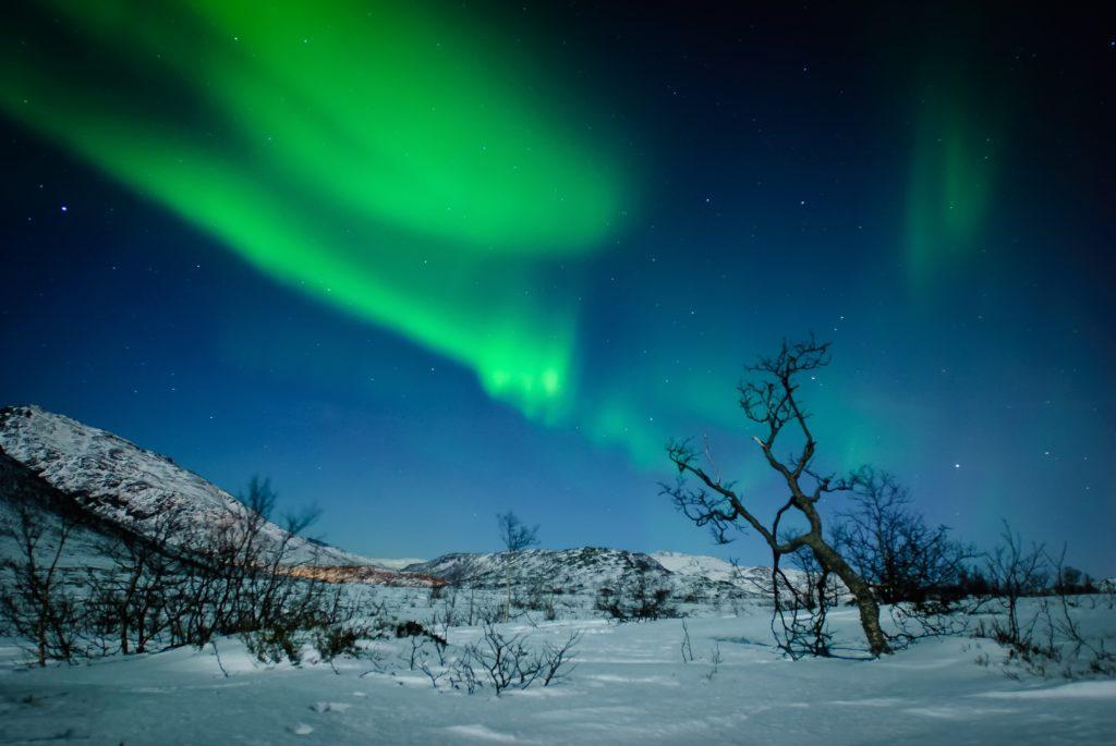 Aurora boreal. Uwdreams.com , fotógrafo destacado Bluekea