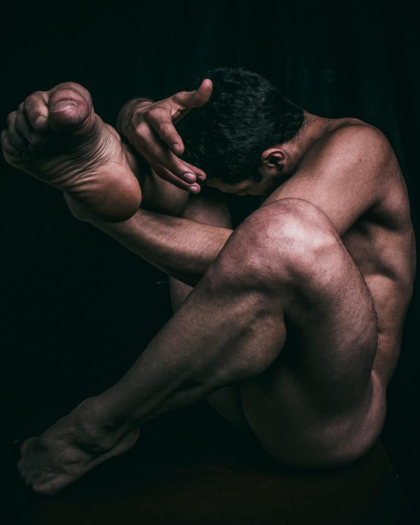 Bailarín proyecto Corpus de Alejandro Coutinho