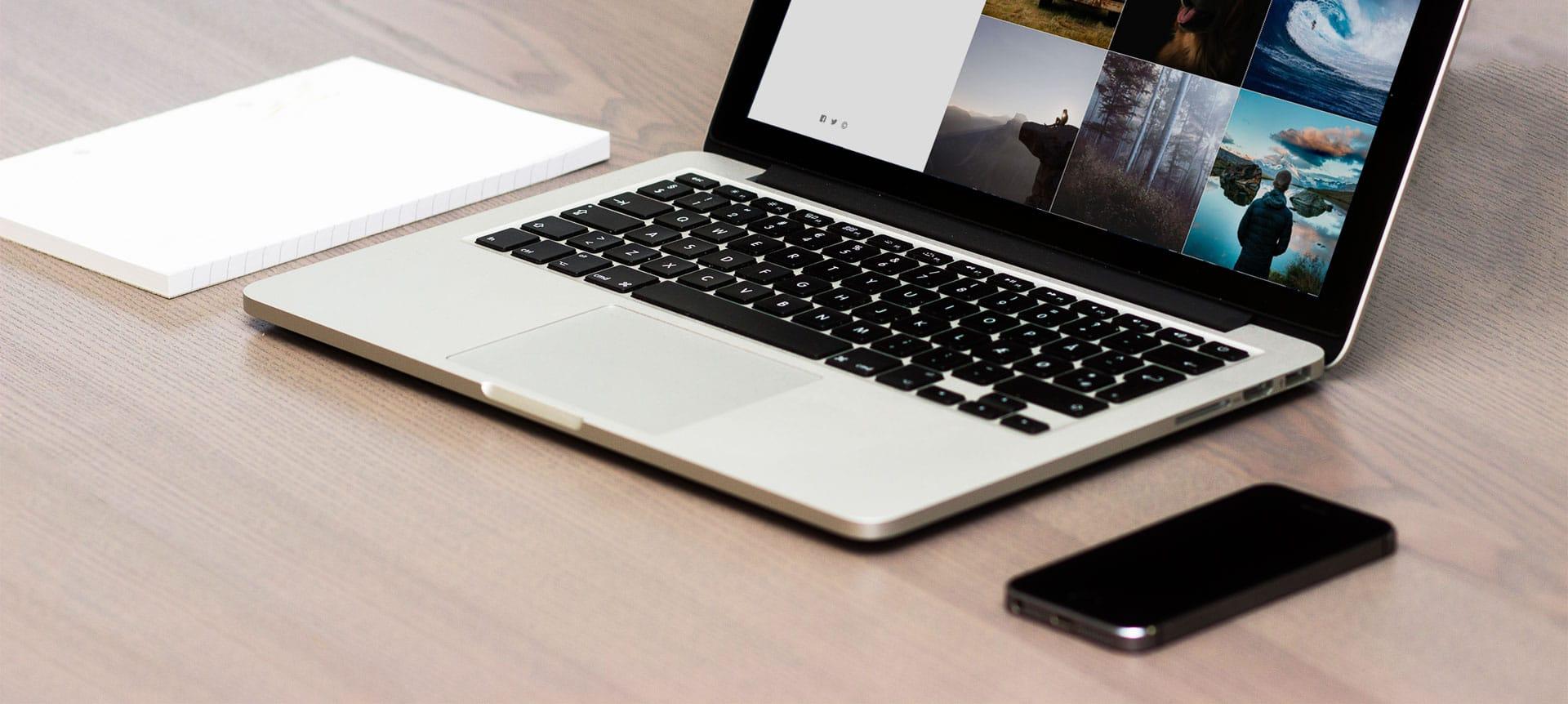 10 razones para preferir una plataforma para crear páginas web de fotografía